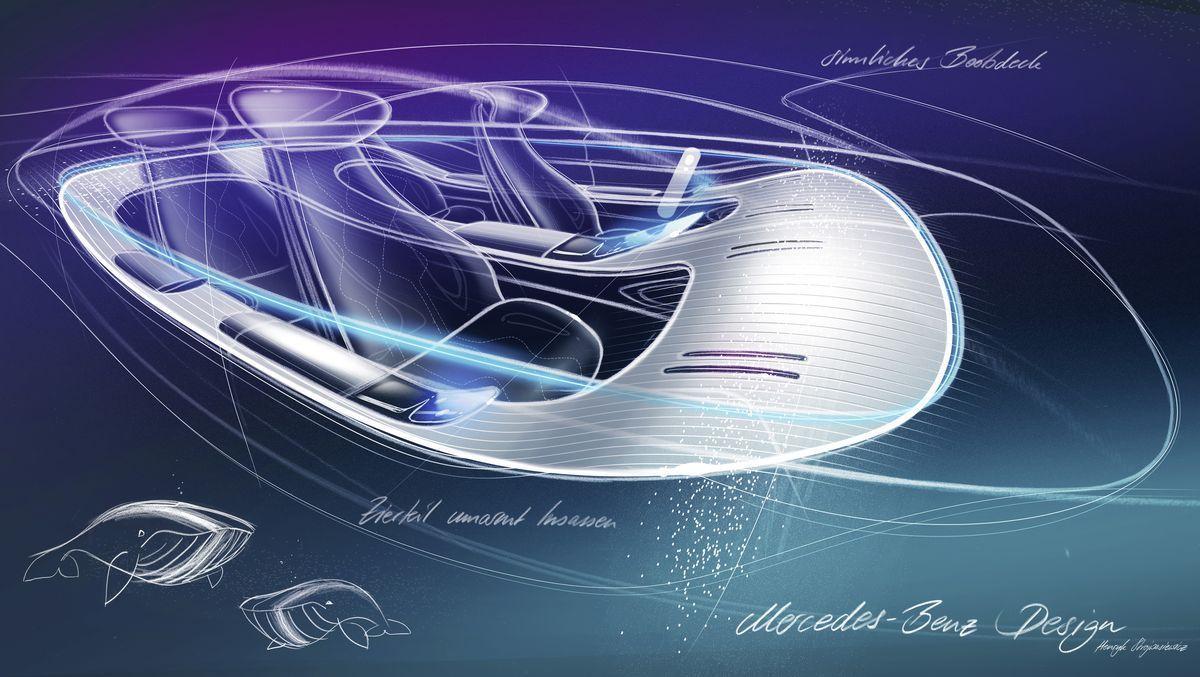 Mercedes Vision EQS AutoRok 2019